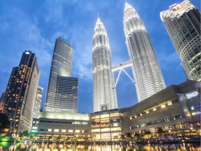 The Majestic Petronas Twin Towers in the heart of KLCC