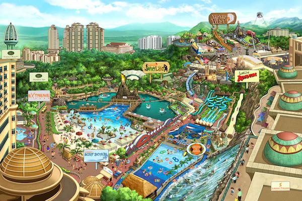 Sunway Lagoon Map