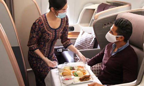 sia a380 dining